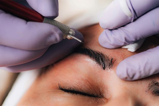 Microblading at Gelisy